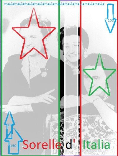 Sorelle Fontana le sorelle d'Italia!