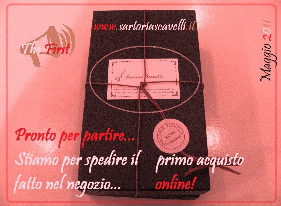 Prima vendita Online! (Maggio 2011)