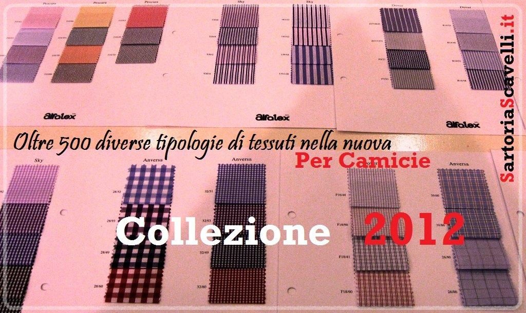 Oltre 500 diverse tipologie di tessuti nella nuova collezione 2012 Alfatex