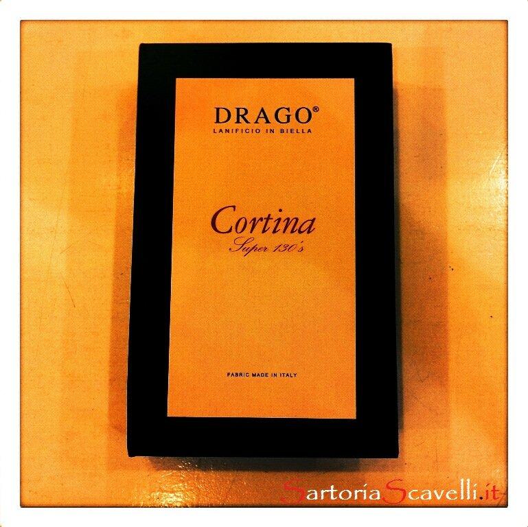 Campionario A/I Drago Lanificio in Biella Cortina Super 130'S
