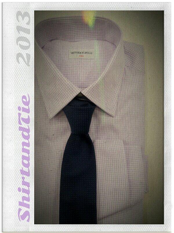 Shirt and tie 2013 ~ Sartoria Scavelli Roma