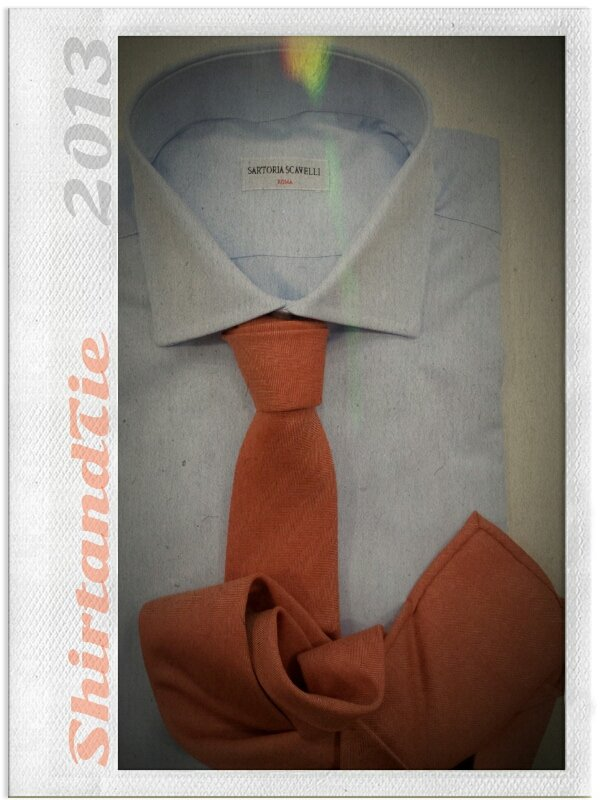 Shirt and tie 2013 ~ Sartoria Scavelli Roma