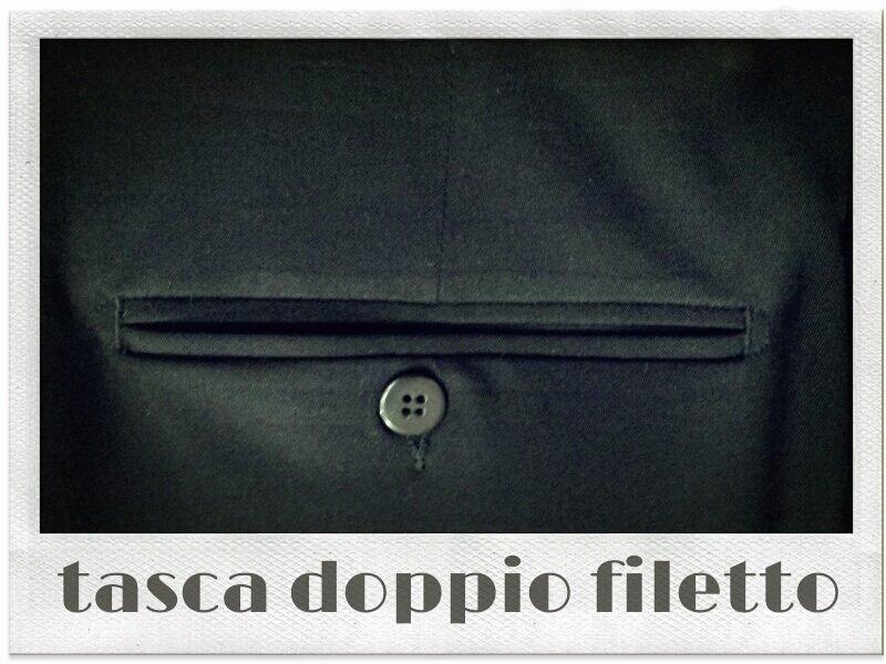 Tasca doppio filetto ~ Sartoria Scavelli