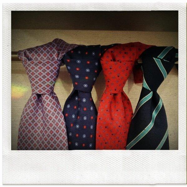 Seven Fold Tie ~ Sartoria Scavelli