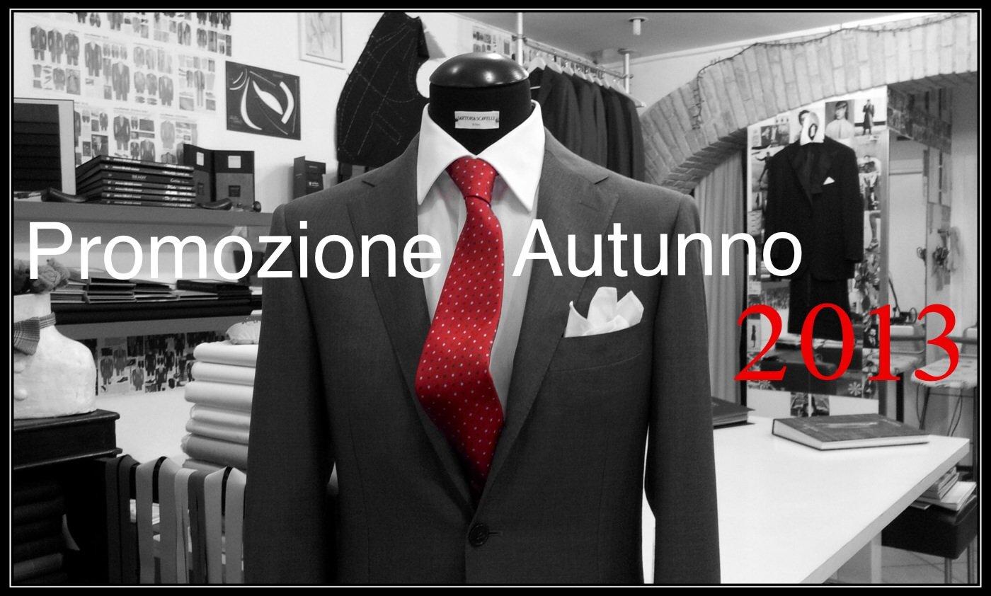 Promozione Autunno 2013 ~ Sartoria Scavelli