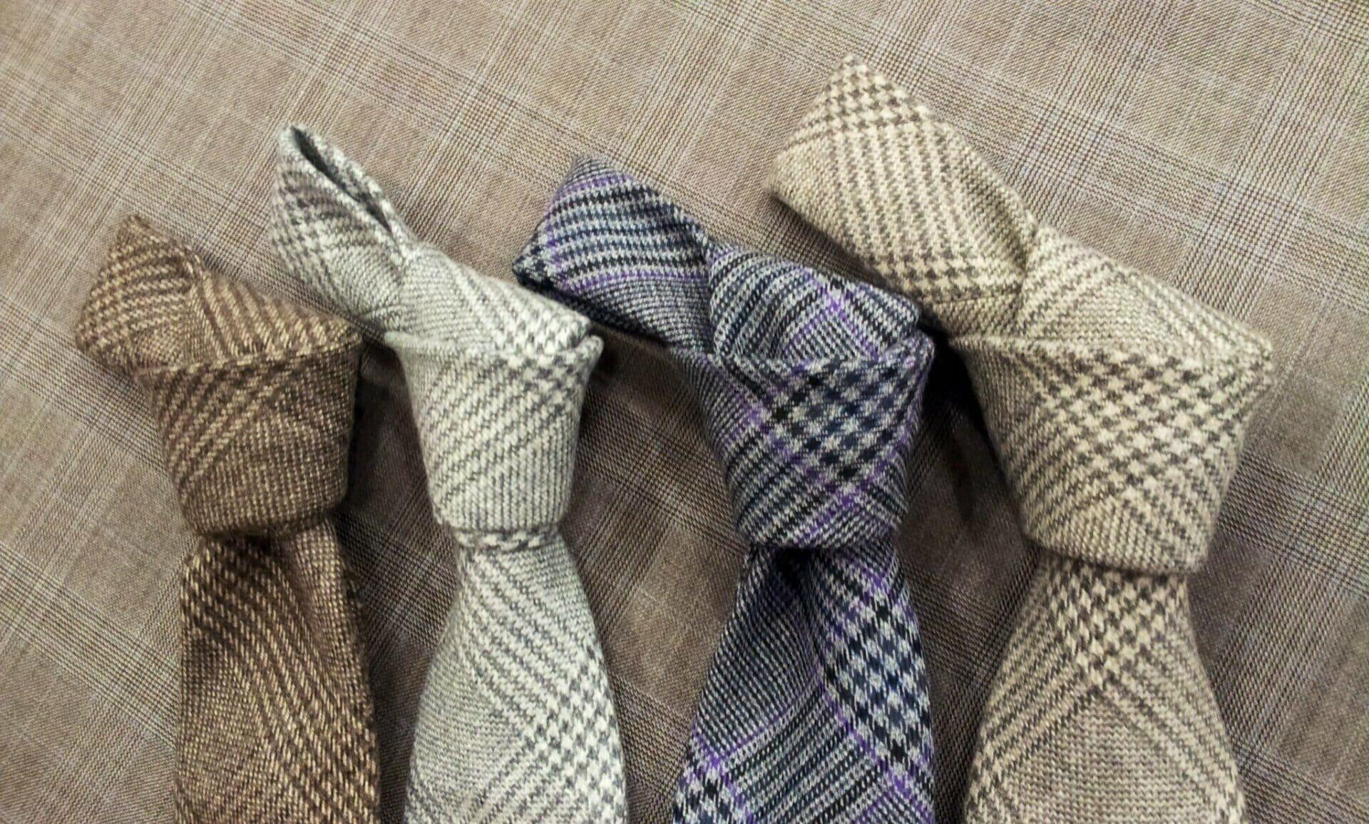 Acquista autentico migliore qualità per più alla moda Cravatte sette pieghe sfoderate in cashmere.