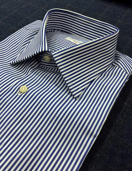 Camicia sartoriale a righe
