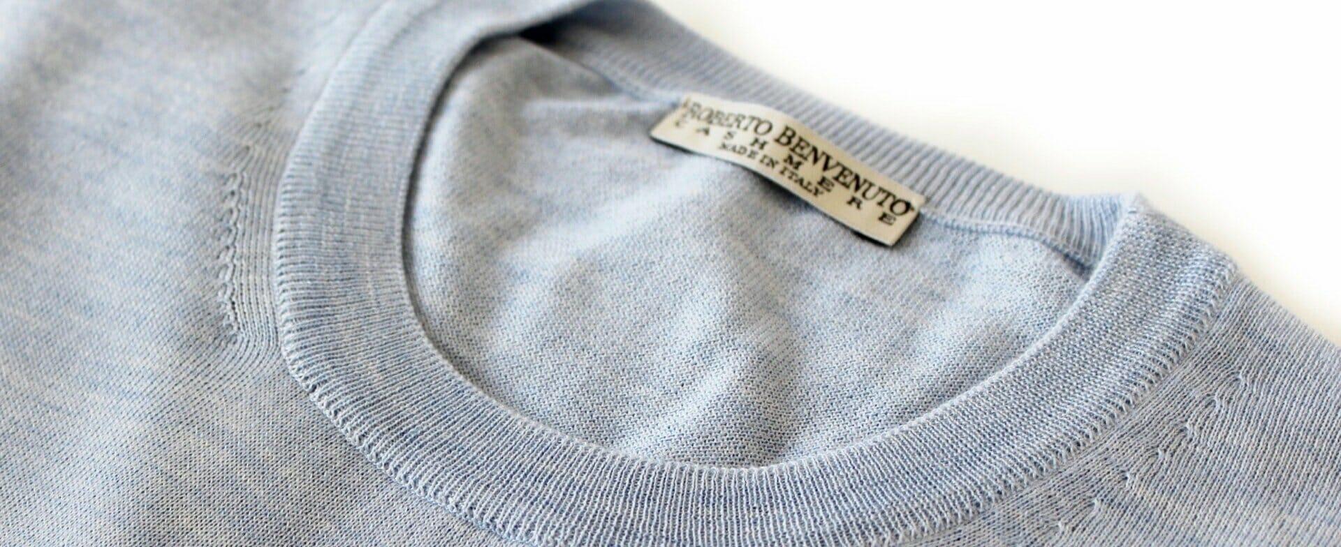 Cashmere e seta su misura
