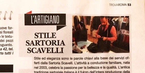 """La Repubblica """"Stile Sartoria Scavelli"""""""
