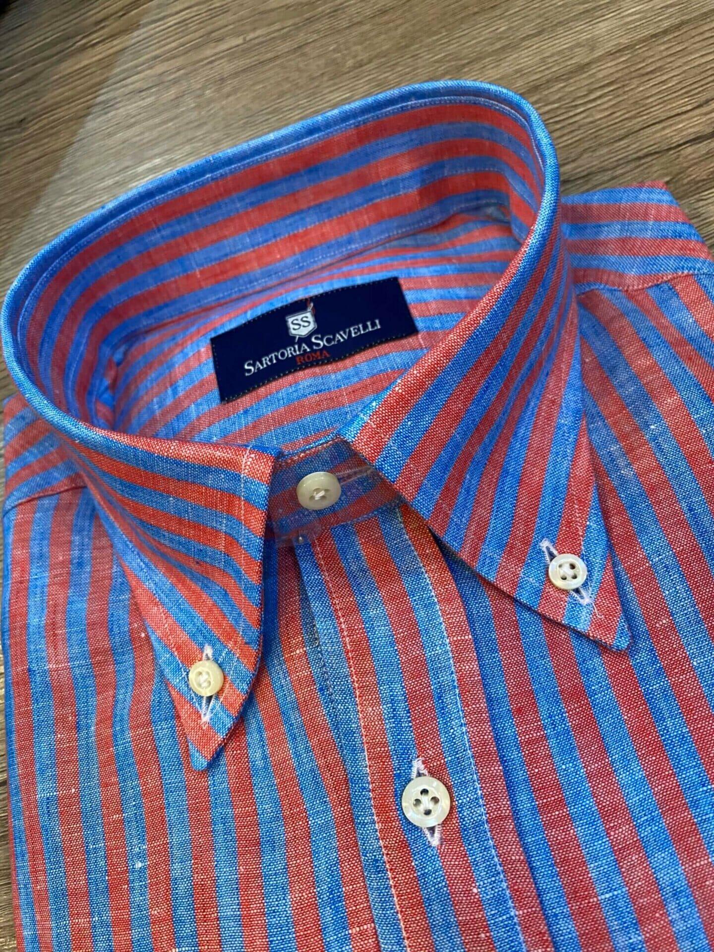 Camicia in Lino Sartoriale